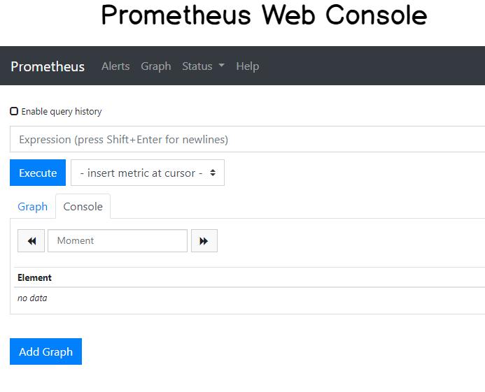 Prometheus Web UI
