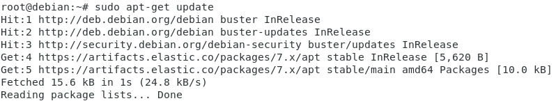 apt-get update for Logstash