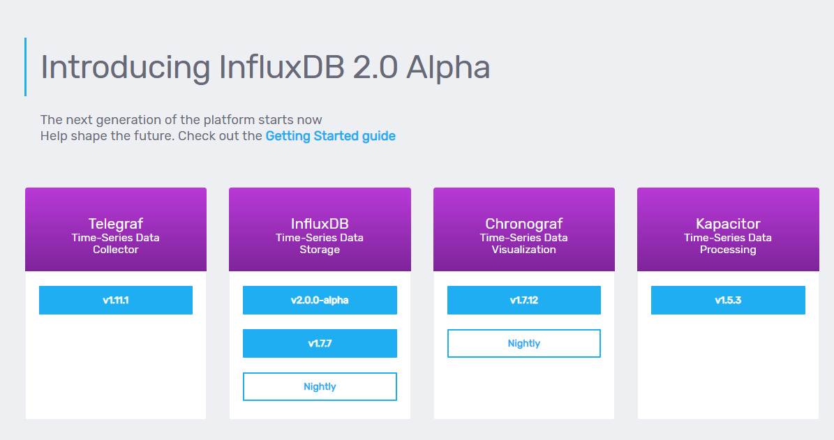 InfluxDB download