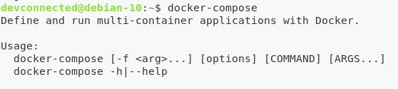 Docker-compose on Linux