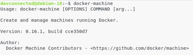 Docker-machine on Linux