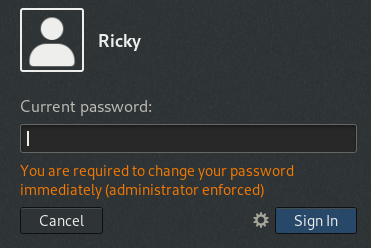 Change password expiration on Debian 10