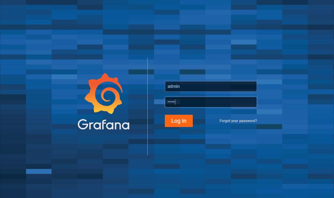 Grafana v6.3 default web UI on Windows