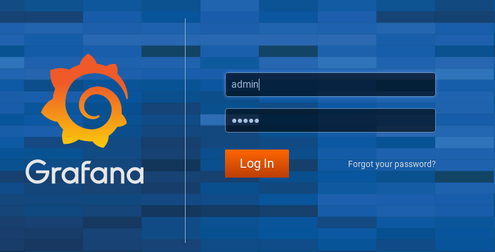 Grafana running on Docker