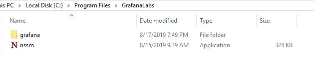 NSSM executable on Windows
