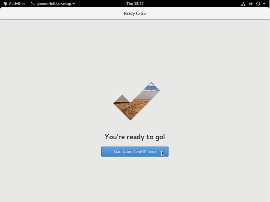 Start using CentOS 8 Linux