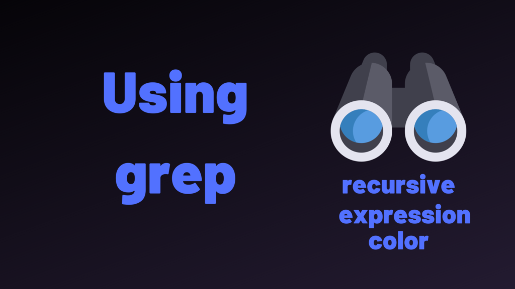grep command to find files recursively