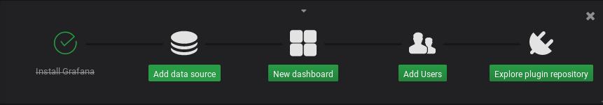 Add a datasource panel in grafana