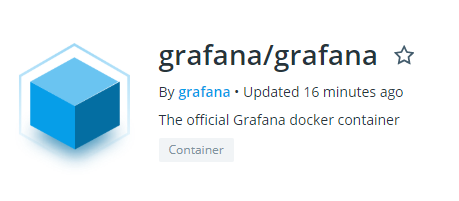 Grafana image for Docker