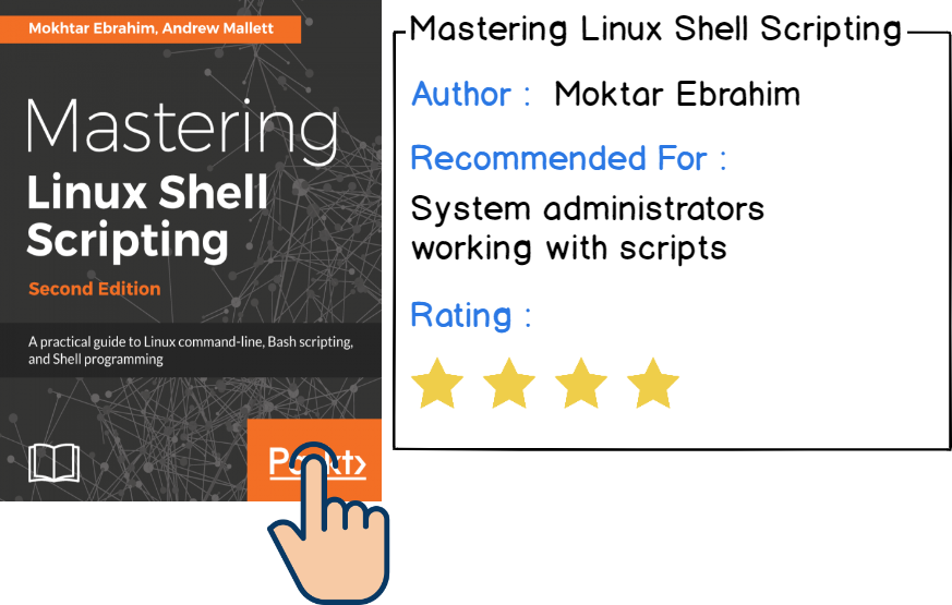 Mastering Linux Shell Scripting - best linux books