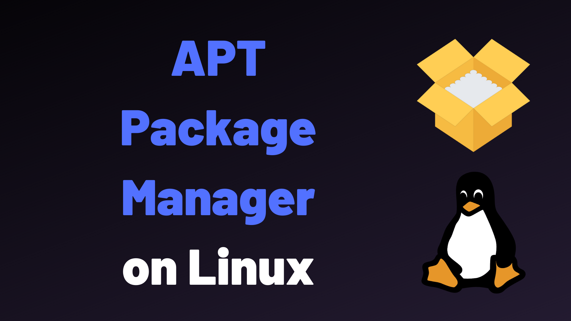 Apt Package Manager On Linux Explained Devconnected