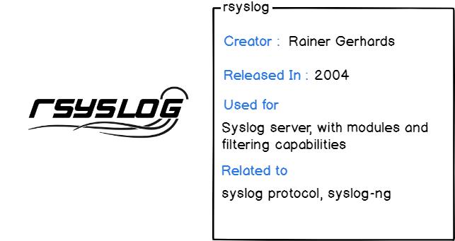 rsyslog daemon