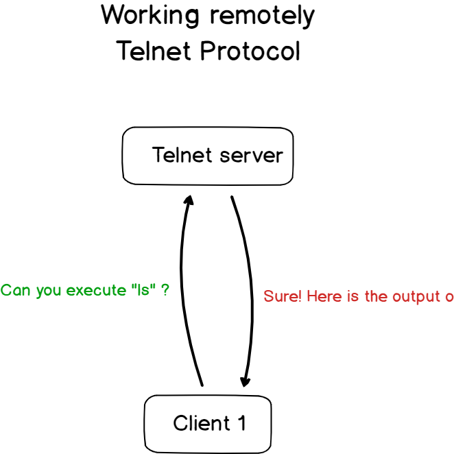 telnet protocols in details