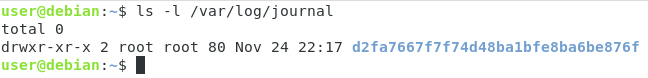 Inspecting journal logs on Linux