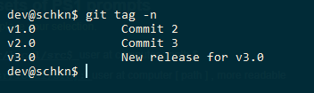 git create tag