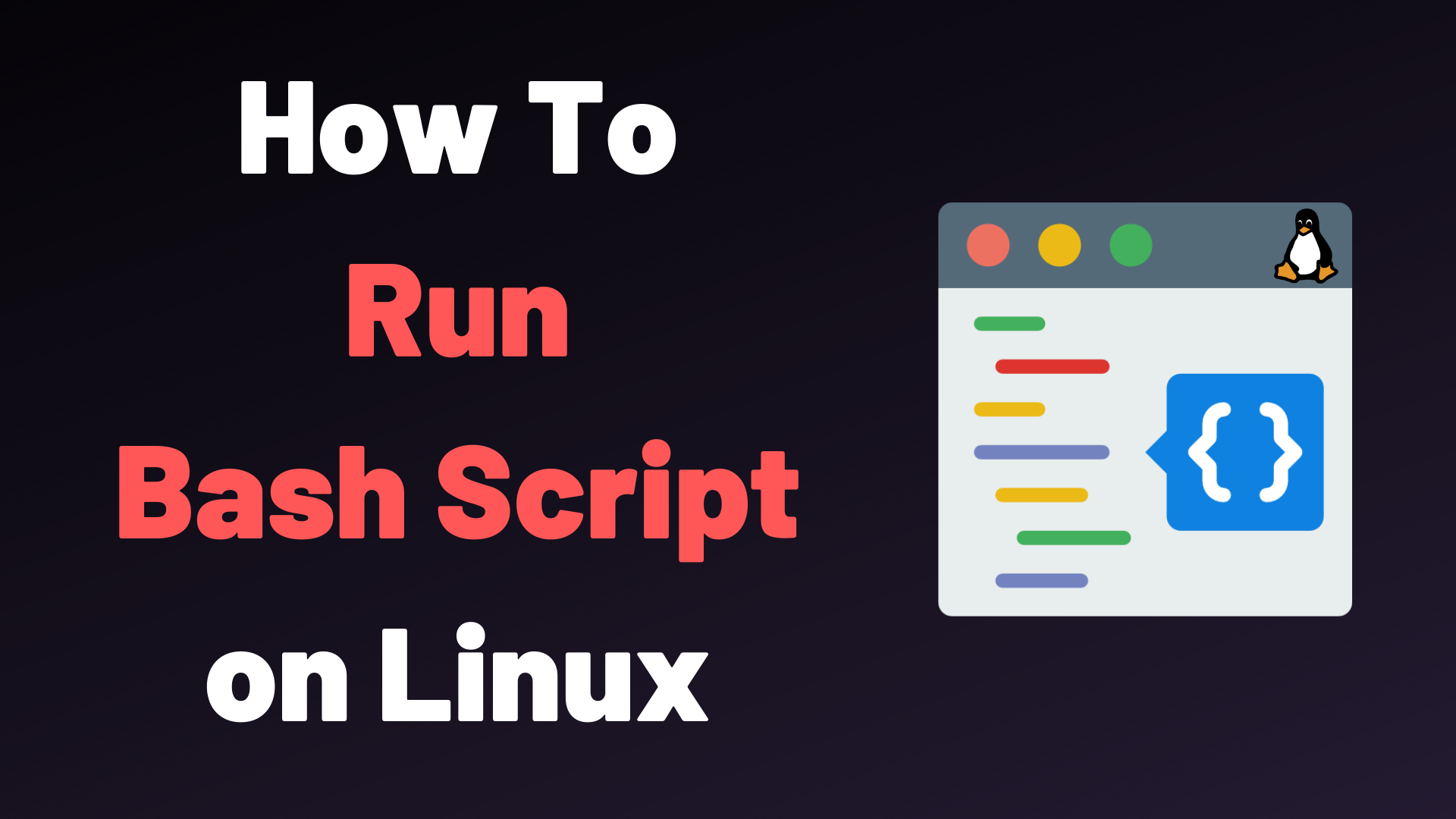 How To Run A Bash Script Devconnected