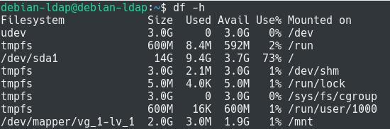 increase filesystem size using resize2fs
