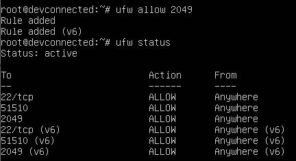 allowing NFS on ubuntu