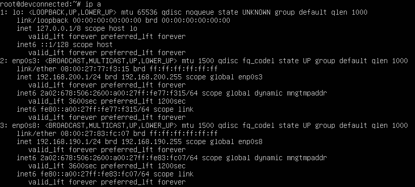 adding ip to network interfaces file on debian
