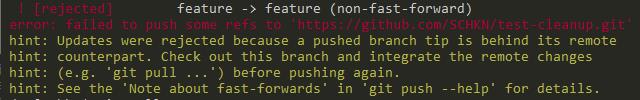 git push branch troubleshooting