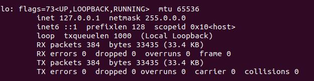 get ip on linux
