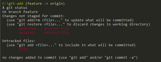git add all files